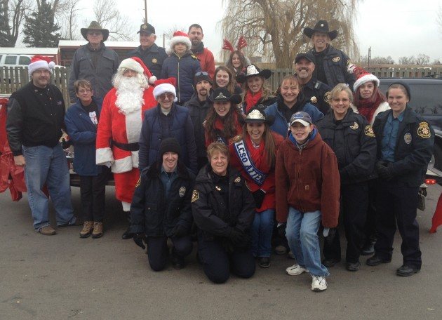 The Larimer County Sheriff's Posse Volunteers