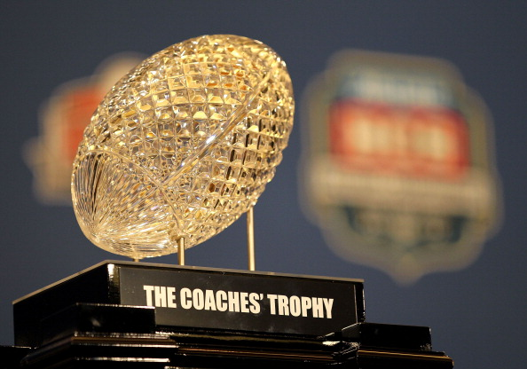 BCS National Championship Trophy