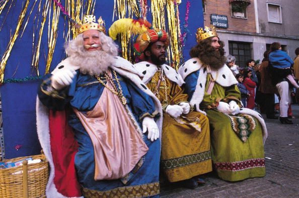 The Three Wise Men in Madrid, Spain