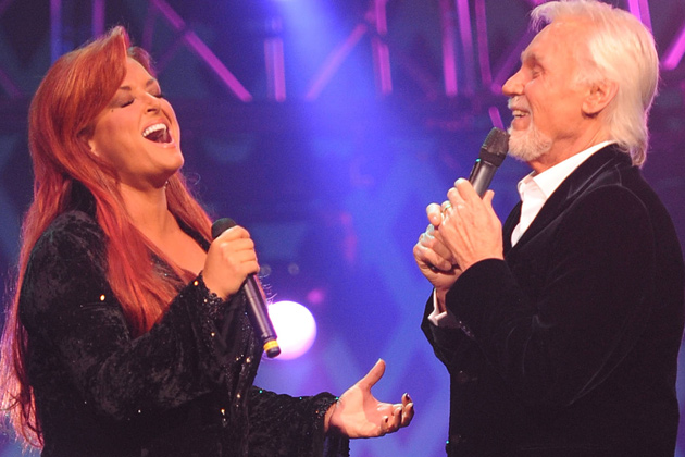 Wynonna and Kenny Rogers