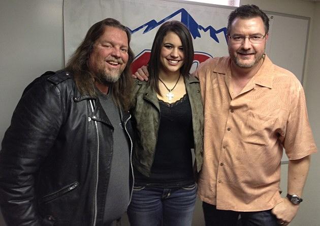 Rachel Farley with Brian & Todd