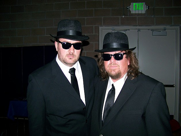 Todd & Brian as the Blues Bros. ReProm 2007