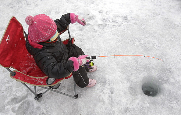 Ice Fishing at  Ice Festival