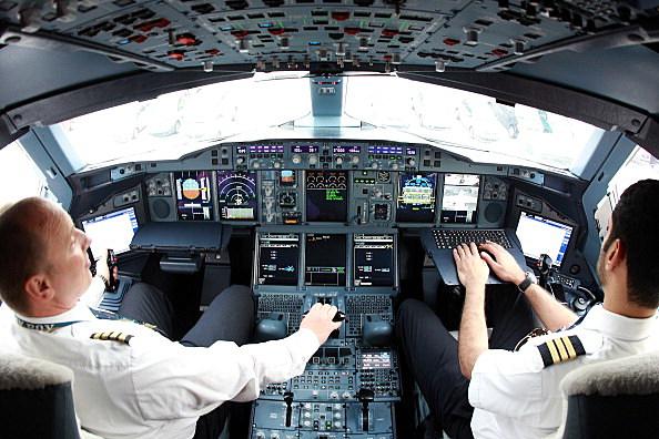 Emirates Airbus A380 pilots