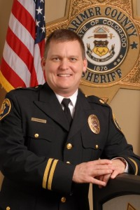 Larimer County Sheriff Justin Smith