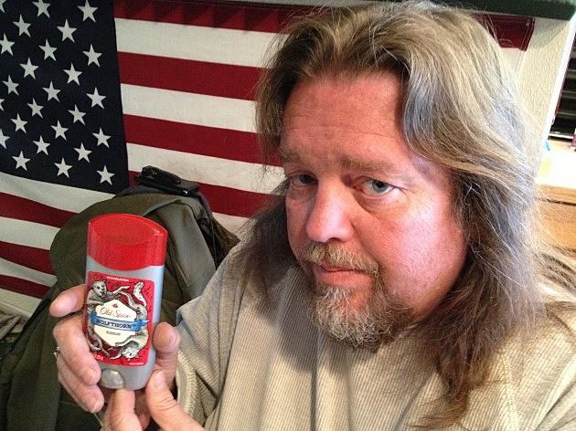 Brian and his Deodorant
