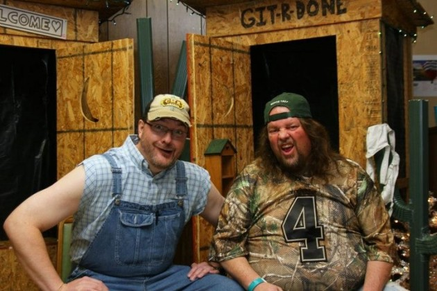 Brian & Todd hosted 2012 Red Neck Gala