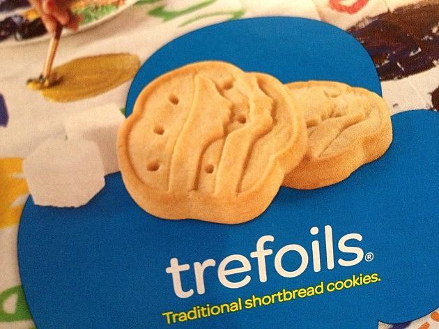 Trefoils Girl Scout Cookies