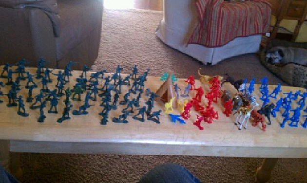 army men battlefield