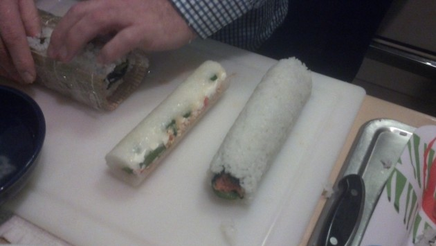 the Roll from the Sushi maker