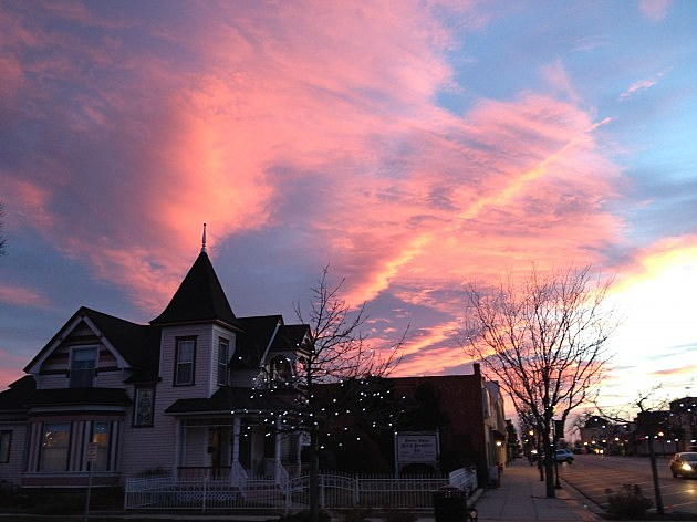 Porter House Bed and Breakfast Inn, Windsor, CO 12/13/12