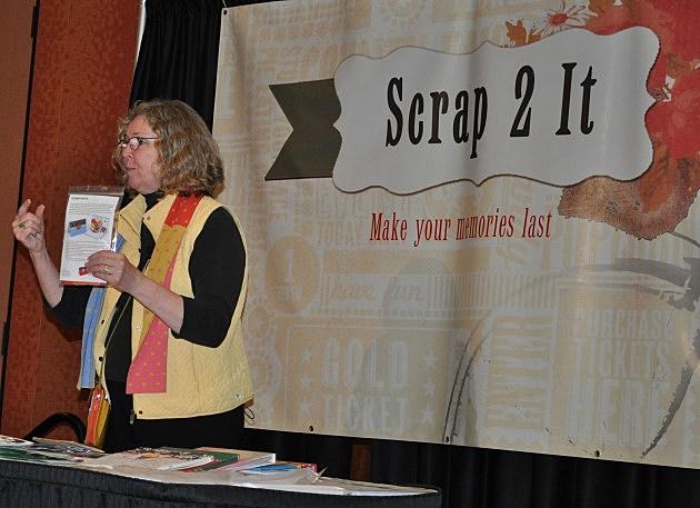 Sandi Genovese demonstrates how to make pop-up cards