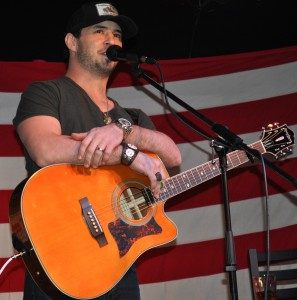 Weston Burt performs at the Boot Grill 2/8/13