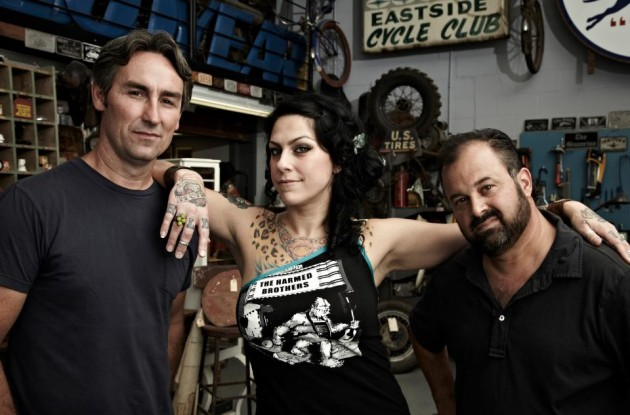 Mike, Danielle, and Frank - American Pickers