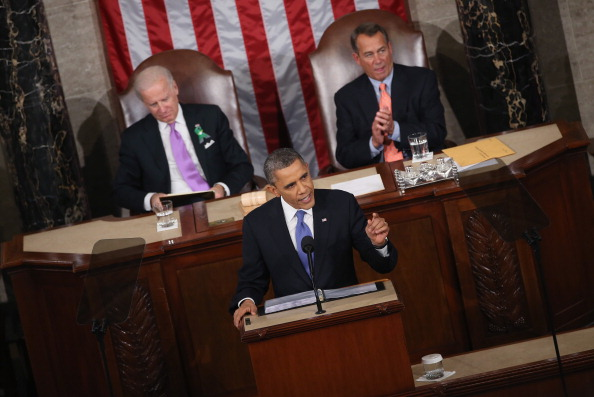 President Obama Delivers State Of The Union Address - What is the Vice President Doing