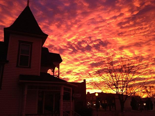 Sunrise Windsor, CO January 3rd, 2012
