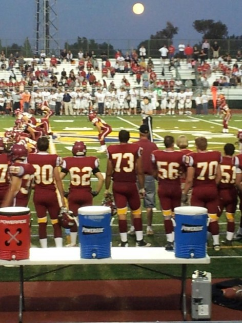 RMHS Honoring Colton by Wearing his Number 73