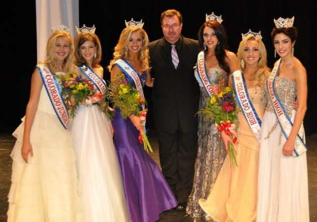 Todd Harding with Miss Colorado, Jr High, High School, and Collegiate 2012 &2013