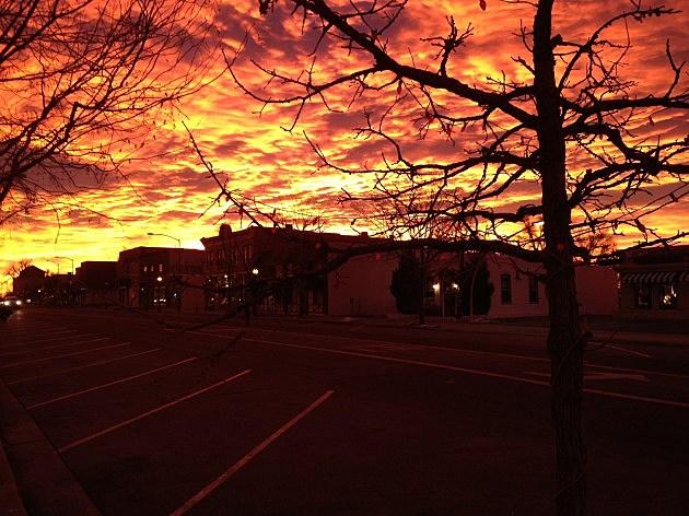 Windsor,  Colorado Sunrise 1/3/12