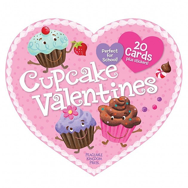Valentines Day Ideas For the Cheap Romantic – Cupcake Valentine Card