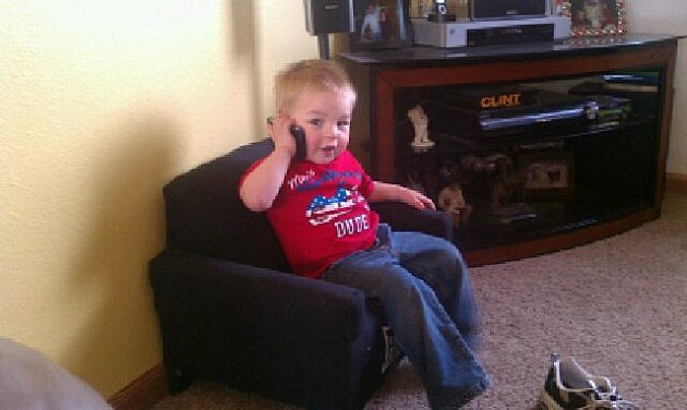 Zander on phone