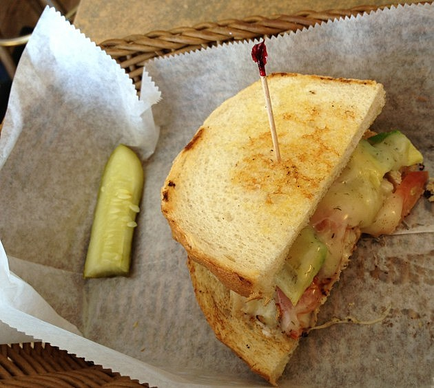 Toonces Sandwich from Pickle Barrel in Fort Collins