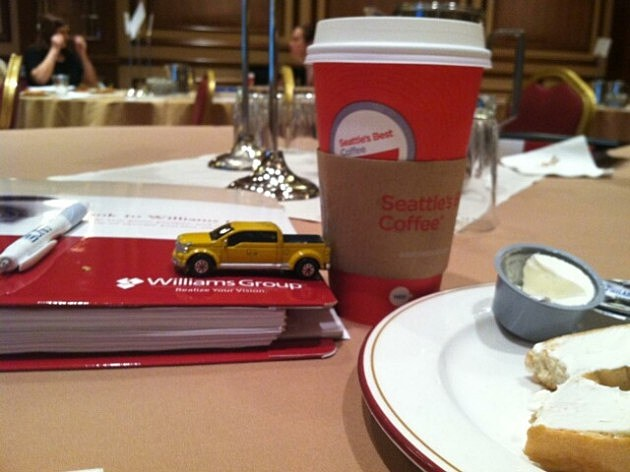 z car at breakfast