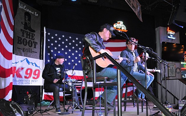 Due West at the Boot Grill