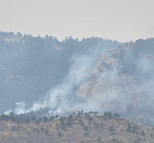 Galena Fire West of Fort Collins