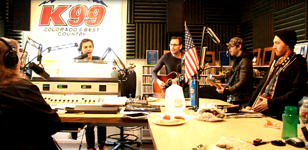 Charlie Worsham performs during 2013 28 Hours of Hope on K99