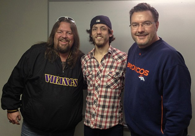 Chris Janson with The Good Morning Guys