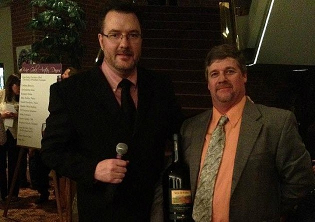 Todd Hosting Gala of Wines 2012