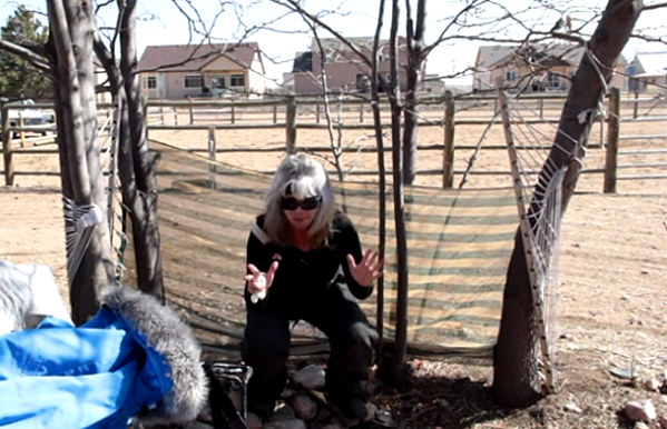 Susan's Instructional Video for Women Peeing Outside