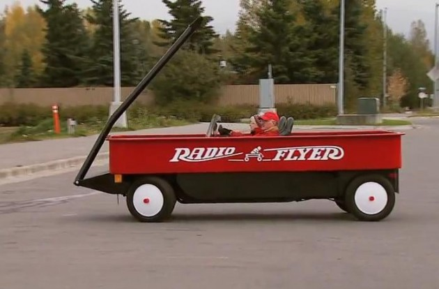 Radio Flyer Wagon Car