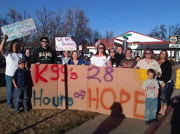 Wellington Kids raising money for 28 Hours of Hope