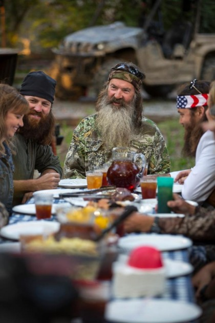 duck dynasty family dinner
