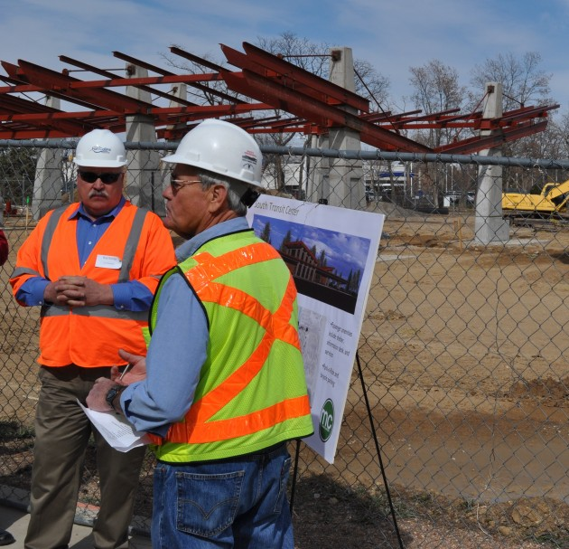 RichRichter & TimHackworth describe construction of South Transit Center