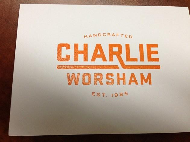Charlie Worsham Card Front