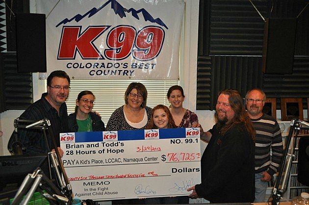 Brian and Todd, Caitlin Youngs and the great folks from the agencies we raise money for