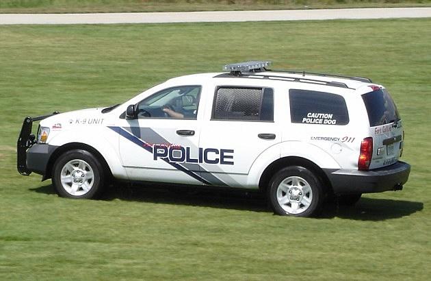 Old Fort Collins Police Car