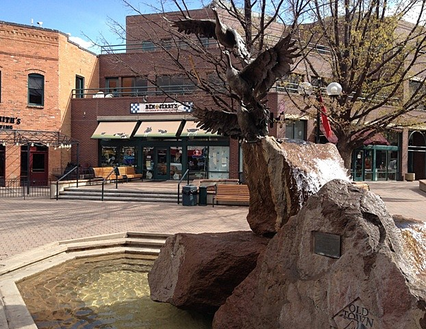 Old Town Square Fountain Fort Collins