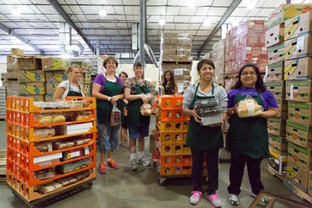 Weld Food Bank Volunteers
