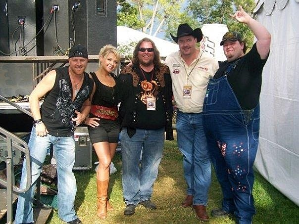 Brian and Todd with Trailer Choir at Greeley Stampede
