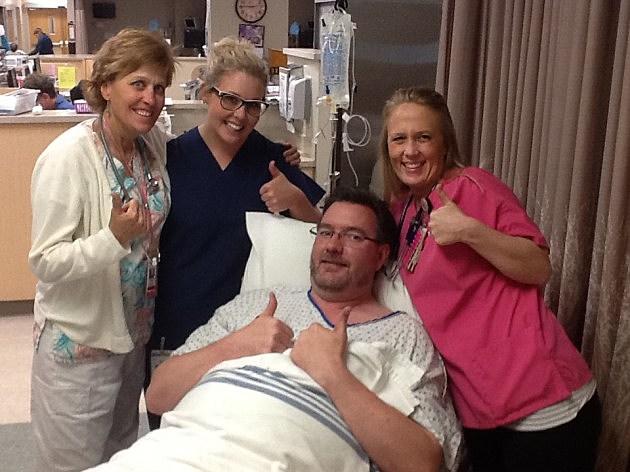 Some of the wonderful nurses at Harmony Surgery Center