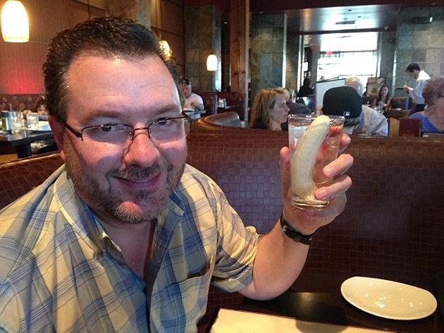 Todd Harding with Banana Water