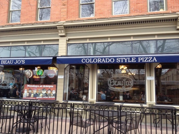 Beau Jo's Colorado Style Pizza in Old Town Fort Collins