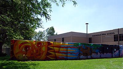 Front of Centaurus school