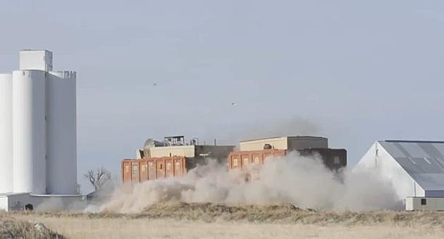 Eaton Sugar Factory Implosion