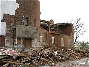 Windsor Landmark Destroyed