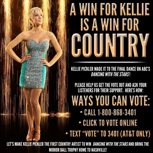 Vote For Kellie Pickler on Dancing WIth The Stars